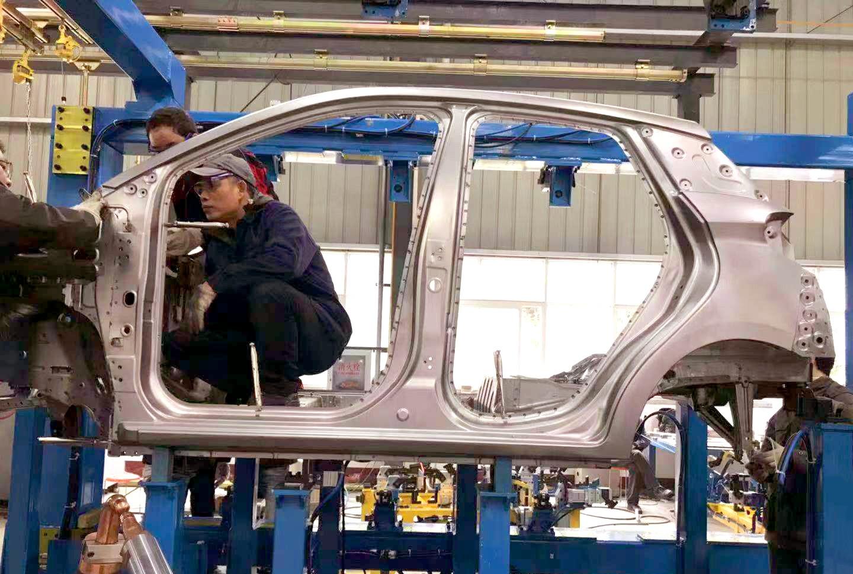 帝亚一维整车量产试焊工作如期完成 小维进入上市倒计时